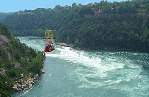 Whirlpool Aero Car over the Niagara River