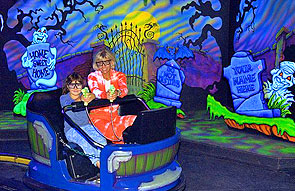 Ghost Blasters haunted ride