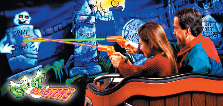 Ghost Blasters thrill ride