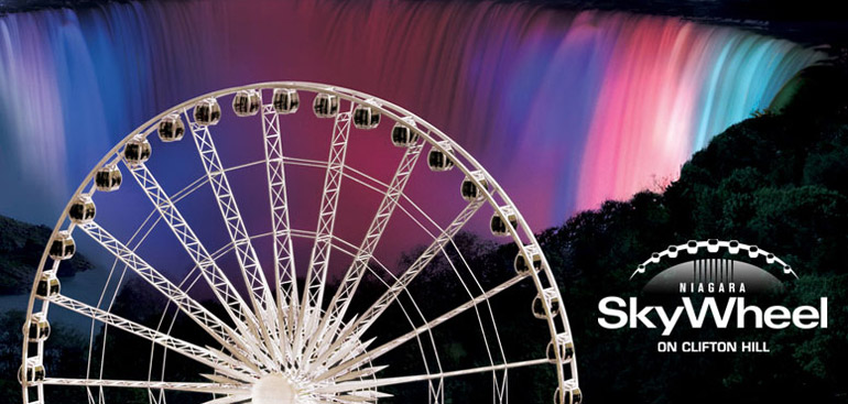 Niagara Skywheel on Clifton Hill